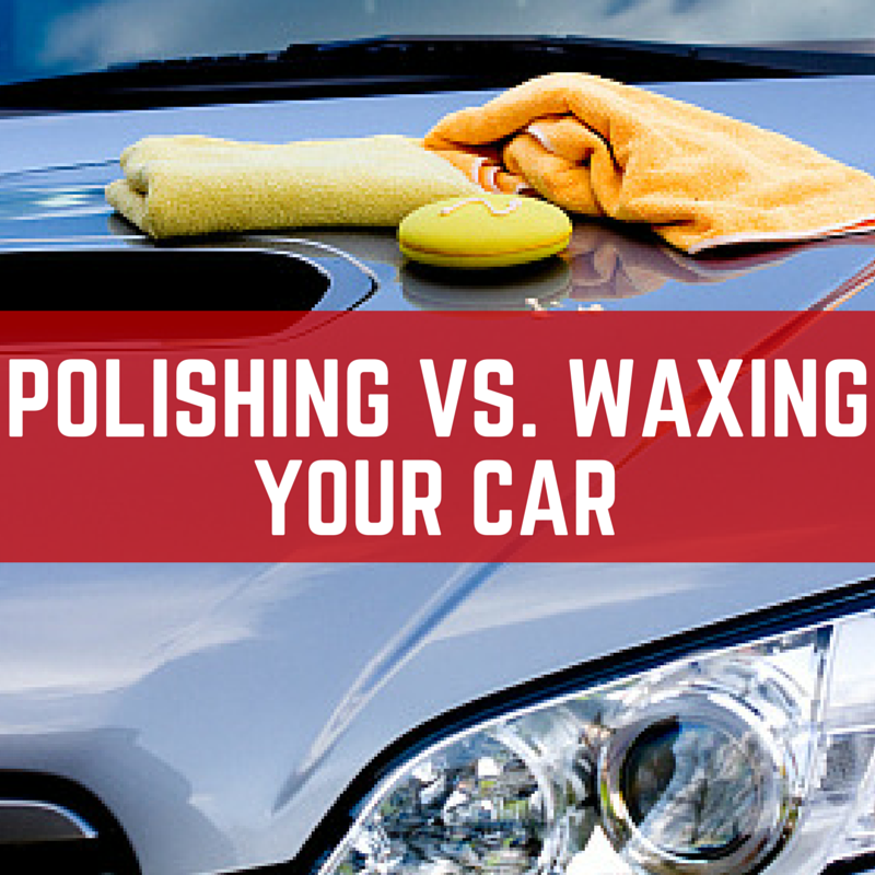 Car Polish vs Wax