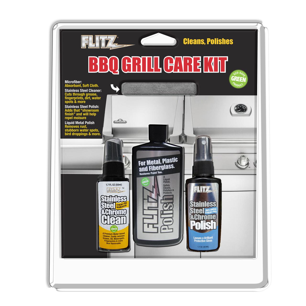 BBQ Grill Care Kit
