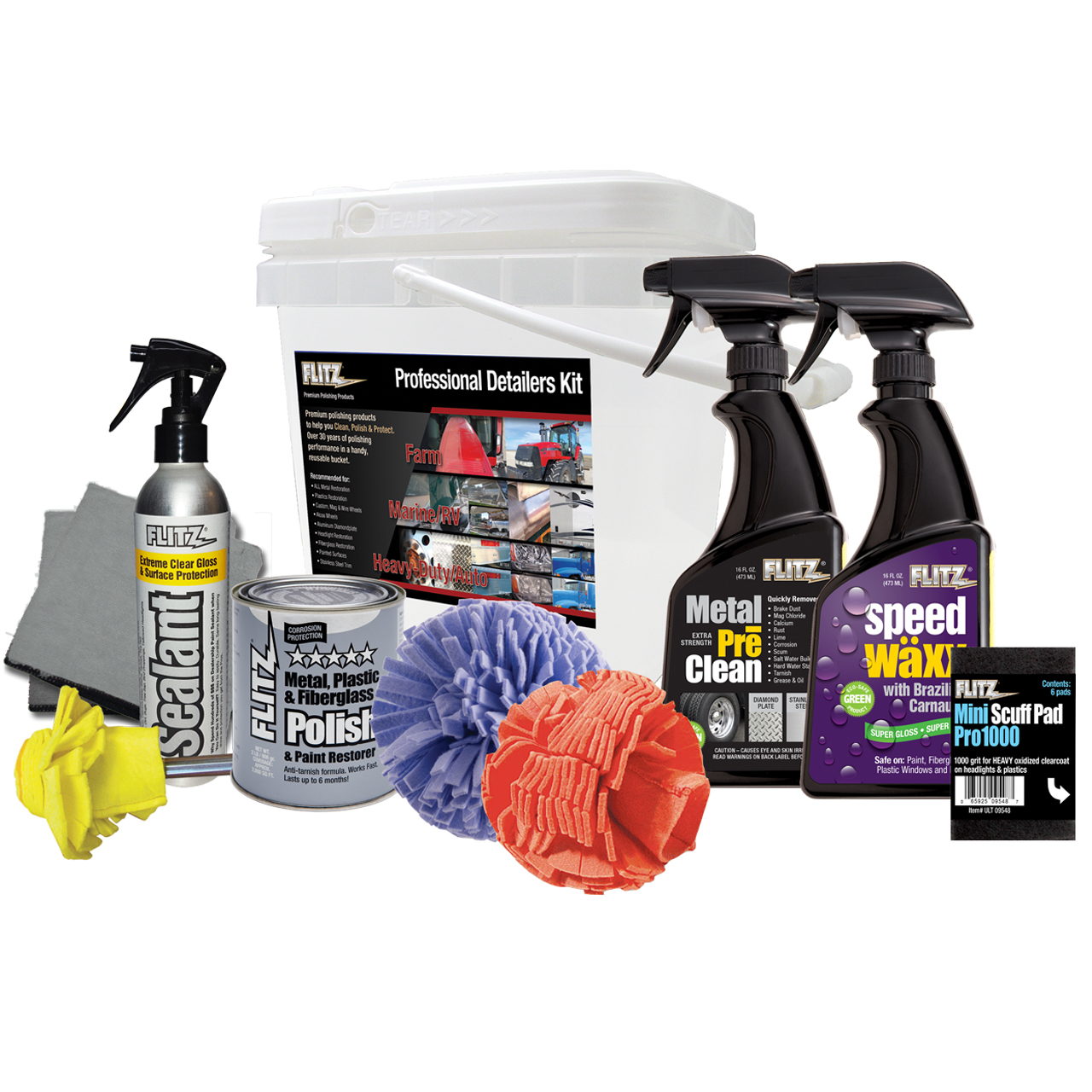 Professional Detailing Kit